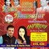 Raat Ke Humsafar with Harmony on Sunday 31st July 2016 at Harrow Art Centre, Uxbridge Road, Hatch End HA5 4EA