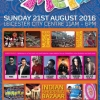 Leicester Belgrave Mela on Sunday 21st August 2016 at Leicester City Centre