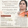 Amrit Varsha by Anandmurti Gurumaa from Saturday 3rd September until Monday 5th September 2016 at Greenford Hall, Ruislip Rd, Greenford, London UB6 9QN