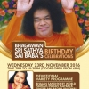 Sri Sathya Sai Baba's Birthday Celebrations with Anuradha Paudwal  on Wednesday 23rd November 2016 at Harrow Leisure Centre, Byron Hall, Christchurch Avenue, Harrow HA3 5BD