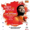 Arijit Singh Live in Concert on Saturday 15th September 2018 at The SSE Arena, Wembley, London