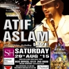 Atif Aslam Live in Concert on Saturday 29th August 2015 at Symphony Hall, Birmingham B1 2EA
