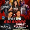 Salim Sulaiman Live in concert on Sunday 4th October 2015 at Indigo,The O2 London