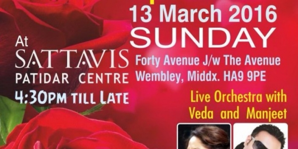 Mother's Day Special on Sunday 13th March 2016 at Sattavis Patidar Centre, Wembley, HA9 9PE