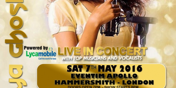 Shreya Ghoshal Live in Concert on Friday 6th May 2016 at De Montfort Hall, Leicester & Saturday 7th May 2016 at Eventim Apollo, Hammersmith, London