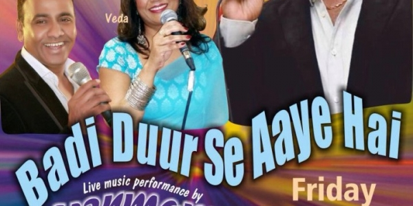 Badi Duur Se Aaye Hai Live Music on Friday 8th April 2016 at Cavendish Banqueting, Colindale, NW9 5AE