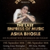 Asha Bhosle Live in Concert Farewell Tour on Saturday 17th at Genting Arena, Birmingham & Sunday 18th September 2016 at SSE Arena, Wembley