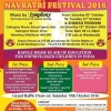 Kalani Sewa Navratri Festival 2016 from Saturday 1st October until Tuesday 11th October & Sharad Poonam on Saturday 15th October 2016 at Oakington Manor School (Sports Hall), Oakington Manor Drive, Wembley HA9 6NF