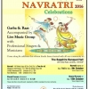 CWBS Navratri 2016 Celebrations from Saturday 1st October until Sunday 9th October & Sharad Poonam on Saturday 15th October 2016 at The Sapphire Banquet Hall, 243 Cross Road, Coventry CV6 5GP
