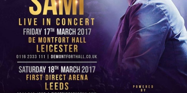 Adnan Sami Live in Concert on Friday 17th March 2017 at De Montfort Hall, Leicester & on Saturday 18th March 2017 at First Direct Arena, Leeds & on Sunday 19th March 2017 at The SSE Arena, Wembley, London