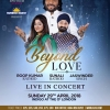 Beyond Love with Roop Kumar Rathod, Sunali Rathod & Jaswinder Singh on Sunday 29th April 2018 at Indigo, The O2 London