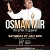 Osman Mir Live in Concert on Saturday 21st July 2018 at Leicester Haymarket Theatre, Haymarket Shopping Centre,1 Garrick Walk, Leicester LE1 3AF