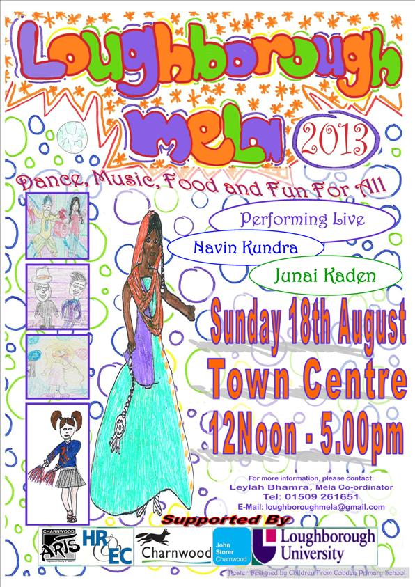Loughborough Mela on Sunday 18th August 2013